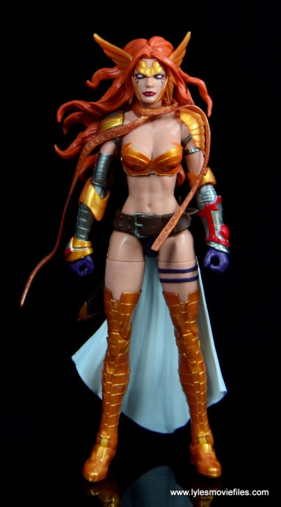 Marvel Legends Angela figure review -front side